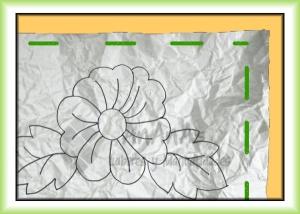 método papel arrugado