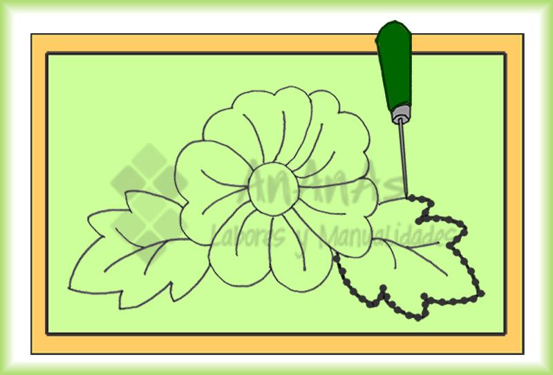 Traspasar los dibujos para bordar | AnAnAs