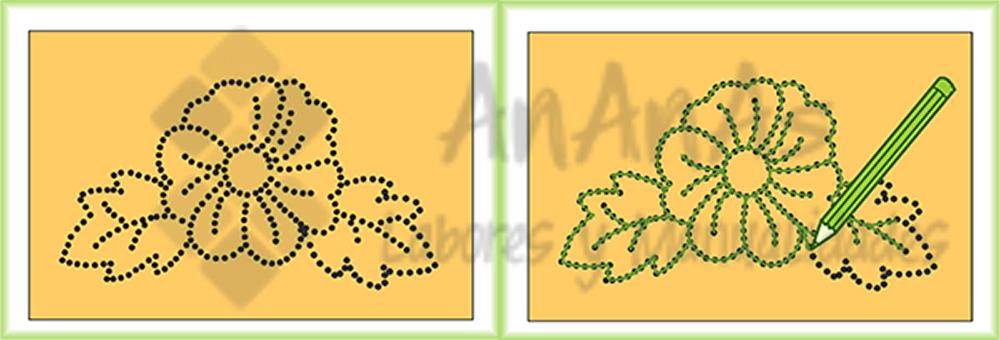 Traspasar Los Dibujos Para Bordar Ananas
