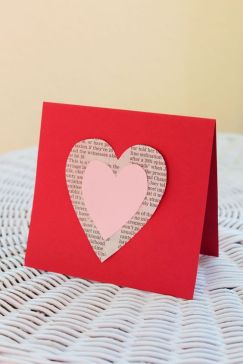 valentines07 - Newsprint can win your loved one's heart -- be sure to choose a story about love or a subject they're into.