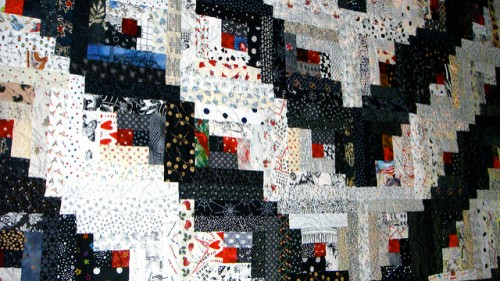 Foundation Piecing - Log Cabin Quilt