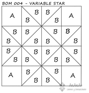 Variable-Star-patrón-bloque-BOM004