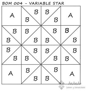 Variable-Star-patrón-bloque-BOM004