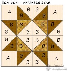 Variable-star-patron-coloreado