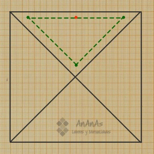 trazado-patron-cuadrado-de-4-triangulos